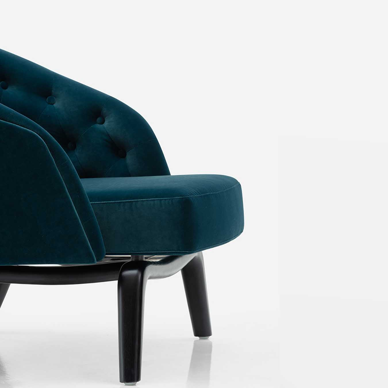 DALTON LEISURE ARMCHAIR PEACOCK BLUE - Casa Lusso ...